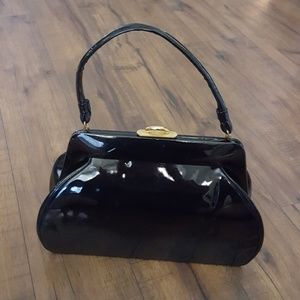 Vintage - Stern and Mann's Patent Leather Bag